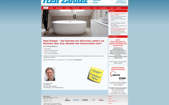 Fred Zander GmbH - Heizung, Sanitär, Solar